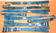 1967 Mustang Fastback Coupe GT Cougar Xr7 ORIG DELUXE SEAT BELT SET w SHOULDERS