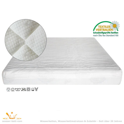 140x220cm Auflage Wasserbett Ohne Wasserablassen Bezug Jersey -Spannauflage
