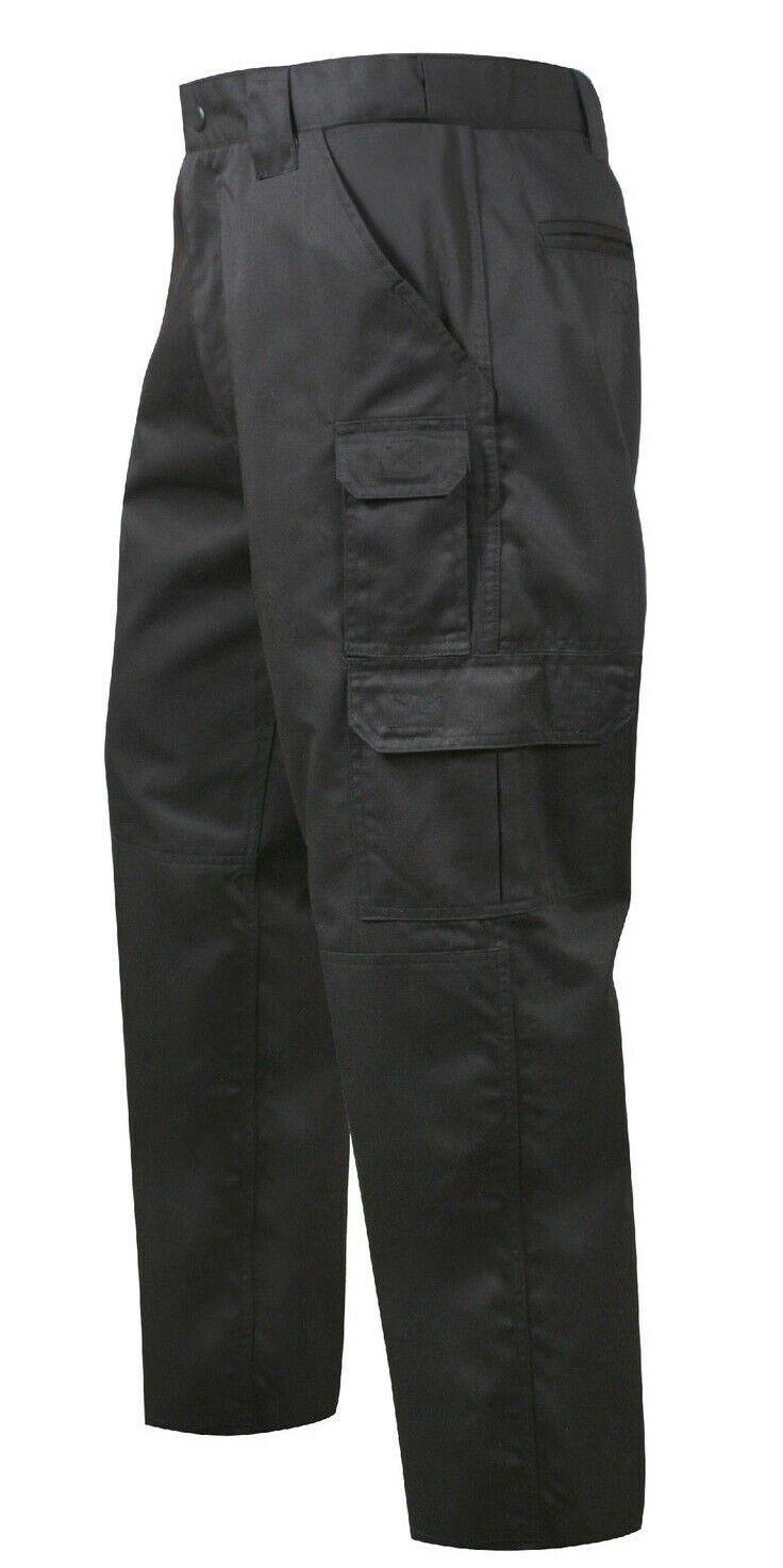 Tactical Duty Lavoro Pantaloni Uniforme Pantaloni Nero Antistrappo rossohco 4765