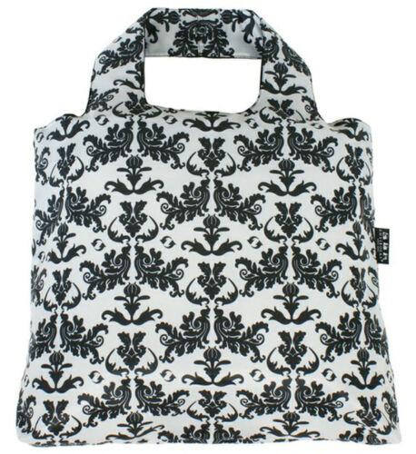 Black Ethnic Gym Swimm Tote Etonico Range Envirosax Roll Up Shopping Bag