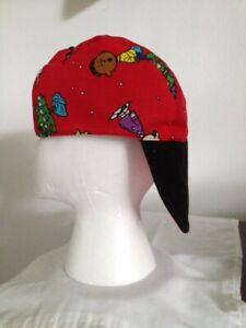 WELDING CAP, REVERSIBLE, snoopy  SIZE    7 7/8