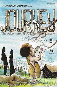 JOURNEY #10 MAY 1984 ADVENTURES OF WOLVERINE MACALISTAIRE AARDVARK-VANAHEIM