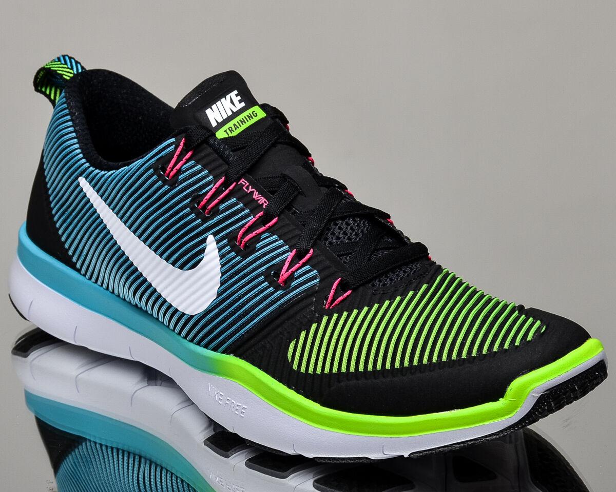 Nike libera treno versatilità uomini formazione scarpe scarpe nuove nuove nuove bianco nero verde | Prezzo speciale  f98041