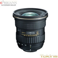 Tokina 11-20mm F/2.8 At-x Pro Dx For Canon. U.s. Authorized Dealer