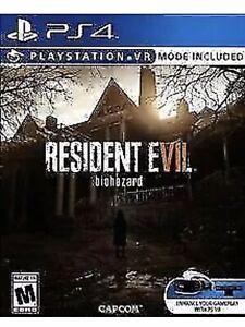 Resident-Evil-7-Biohazard-Ps4-Game-VII-PlayStation-4-W-VR-Mode