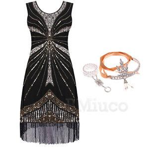 1920s-Vintage-Flapper-Dress-Great-Gatsby-Fringe-Tassels-Fringe-Party-Dresses