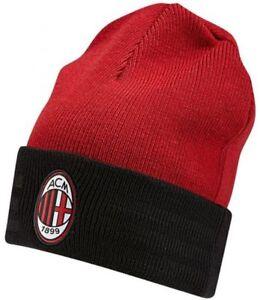 369570a1222d6 ACM AC MILAN Adidas Shield Red White Black Football Soccer Woolie ...