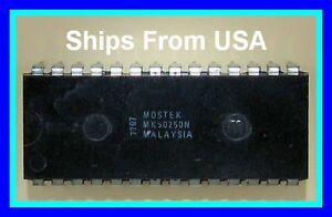 Vintage-Mostek-MK50250N-MOS-Digital-Alarm-Clock-Easy-Single-One-Chip-Solution