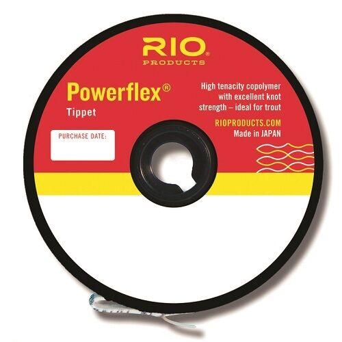 New 6.4lb RIO Powerflex Tippet Size 4X