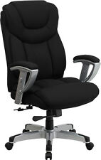 Heavy Duty 400 lb Capacity Office Chair with Lumbar Support  - 2 Year Warranty
