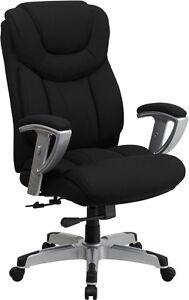 Heavy Duty 400 Lb Capacity Office Chair With Lumbar