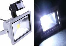 Faro LED + Sensore Movimento.Accensione automatica,bianco freddo.20W.Esterno,Int