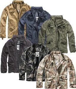 Details zu Brandit Britannia Herren Übergangsjacke Vintage Outdoor Sommer Jacke Army 3116