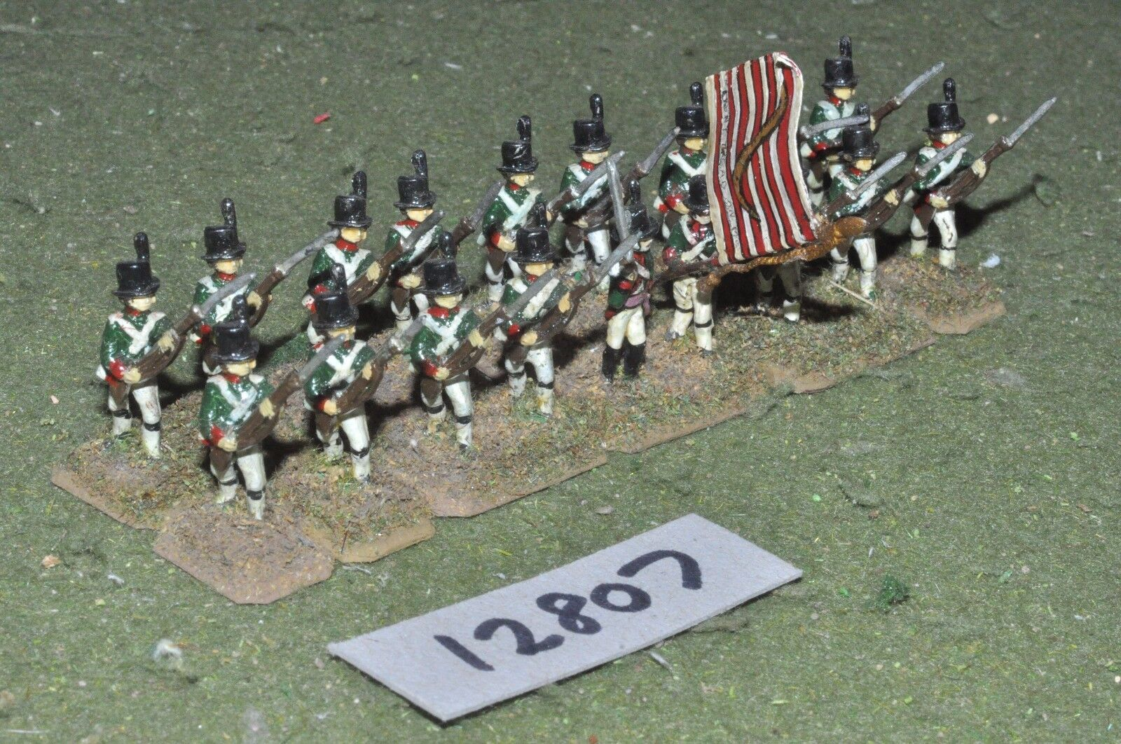 25mm AWI   american - infantry 18 figs - inf (12807)