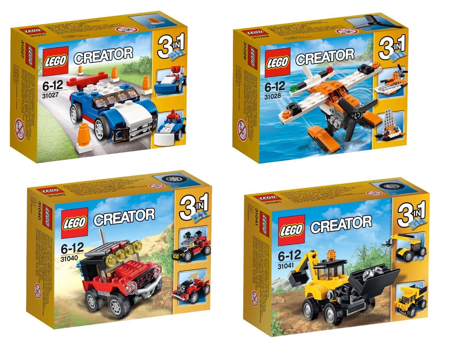 LEGO® Creator Set 31027+ 31028+ 31040+ 31041 NEU OVP NEW MISB NRFB