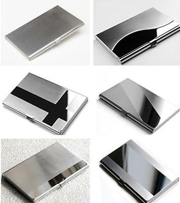 LS Creative Commodity Aluminum Holder Metal Case Credit ID Card Business Wallet
