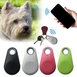 GPS-Tracker-Wireless-Locator-Lost-Fuer-Hunde-Halsband-Peilsender-Katzen-Schwarz