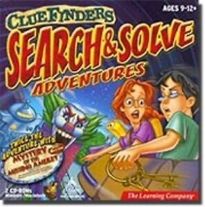 ClueFinders-Search-amp-Solve-Adventures-Learn-Critical-Thinking-New-in-Box-2CDs