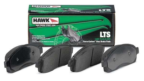 for 03-16 Toyota 4Runner Front /& Rear Set Hawk LTS Truck//SUV Brake Pads