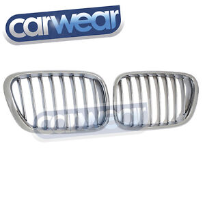 BMW-E53-X5-00-03-CHROME-KIDNEY-GRILL-GRILLE