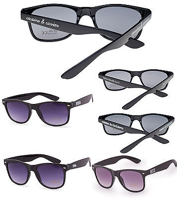 Damen Herren Sonnenbrille Brille Quadrat Holiday Bad Hair Day Swag Kaviar