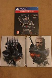 Details about The Witcher 3 - The Wild Hunt Steel Case STEELBOOK G2 PS4  XBOX ONE Skellige