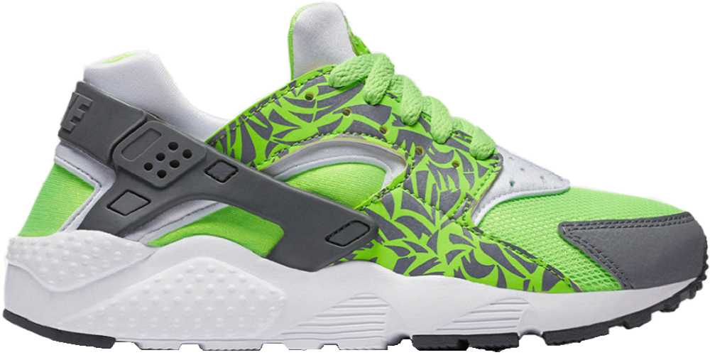 NEW NIKE Huarache Run Print GS LTD Sneaker Running shoes green 704943 300 SALE