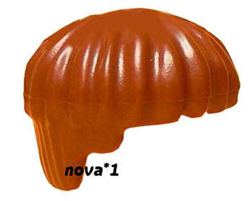 LEGO BROWN BOWL CUT HAIR FOR MINIFIGURE NEW