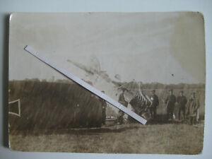Flugplatz-Alt-Autz-Auce-Lettland-Foto-Albatros-C7-Kennung-Flieger-Doppeldecker