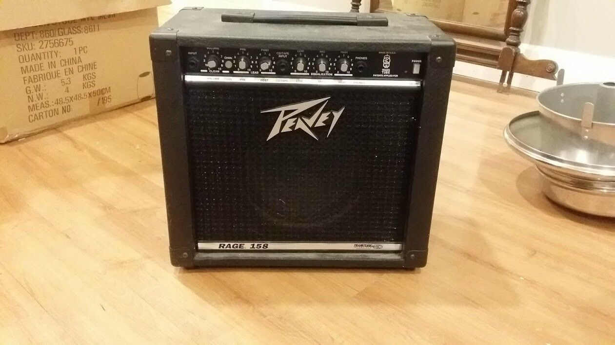 Peavey Rage 158 TransTube Guitar Amplifier