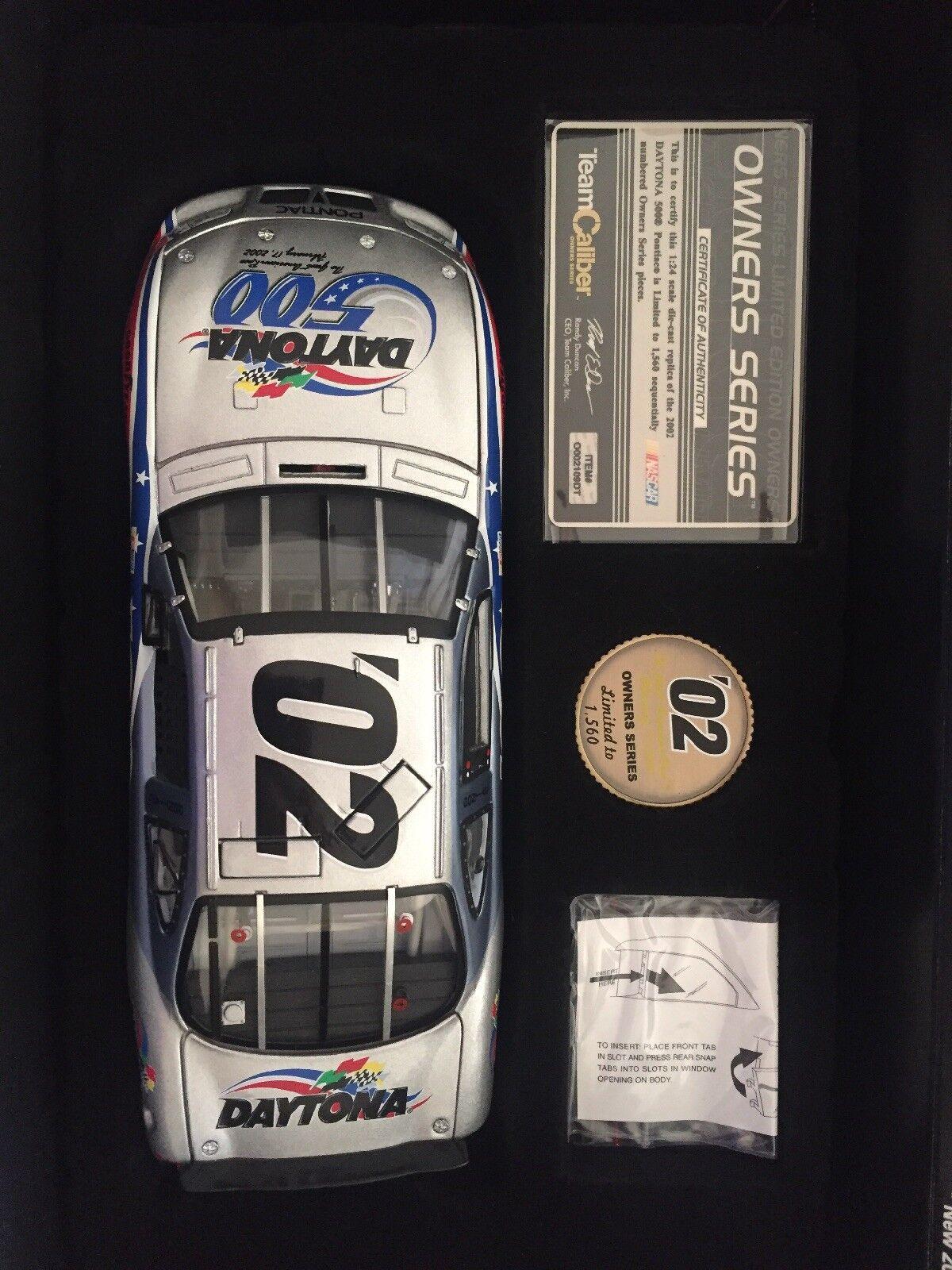 alta calidad general Nuevo En Caja 2002 2002 2002 Daytona 500 Pace Coche 1 24 DIE-CAST réplica  moda clasica
