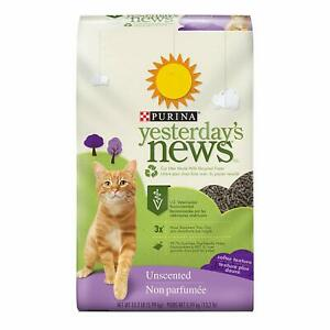 Purina-Yesterday-039-s-News-Non-Clumping-Paper-Cat-Litter-Softer-Texture-Unscented