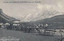 Melchsee-Frutt Kerns Titliskette AK 1925 Kurhaus Reinhard Schweiz Suisse 1610371