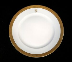 Stunning-Rosenthal-Selb-Plossberg-Gold-Encrusted-Aida-Dinner-Plate