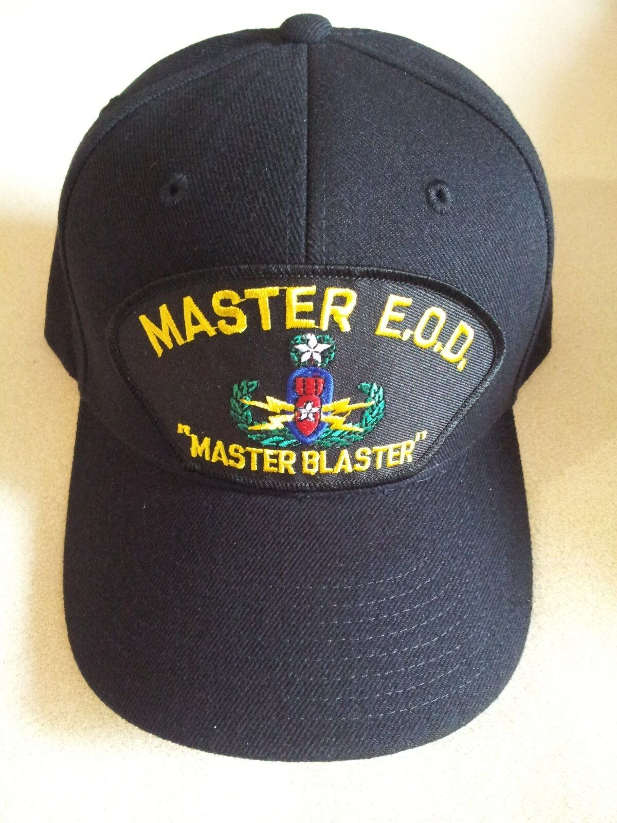 U.S. ARMY DISPOSAL MASTER E.O.D. EXPLOSIVE ORDNANCE DISPOSAL ARMY Military Ball Cap 5b80af