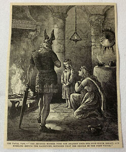 1877-magazine-engraving-VIKINGS-BY-The-HEARTH-The-Fatal-Vow