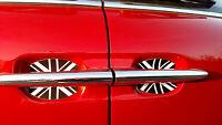 British Flag Auto Accessory Fits Mini Copper Clubman 2 Pk Black And White