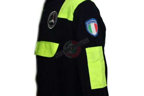 Pile Maglione con Toppe Protezione Civile Volontaria Nazionale PC Caldo Morbido