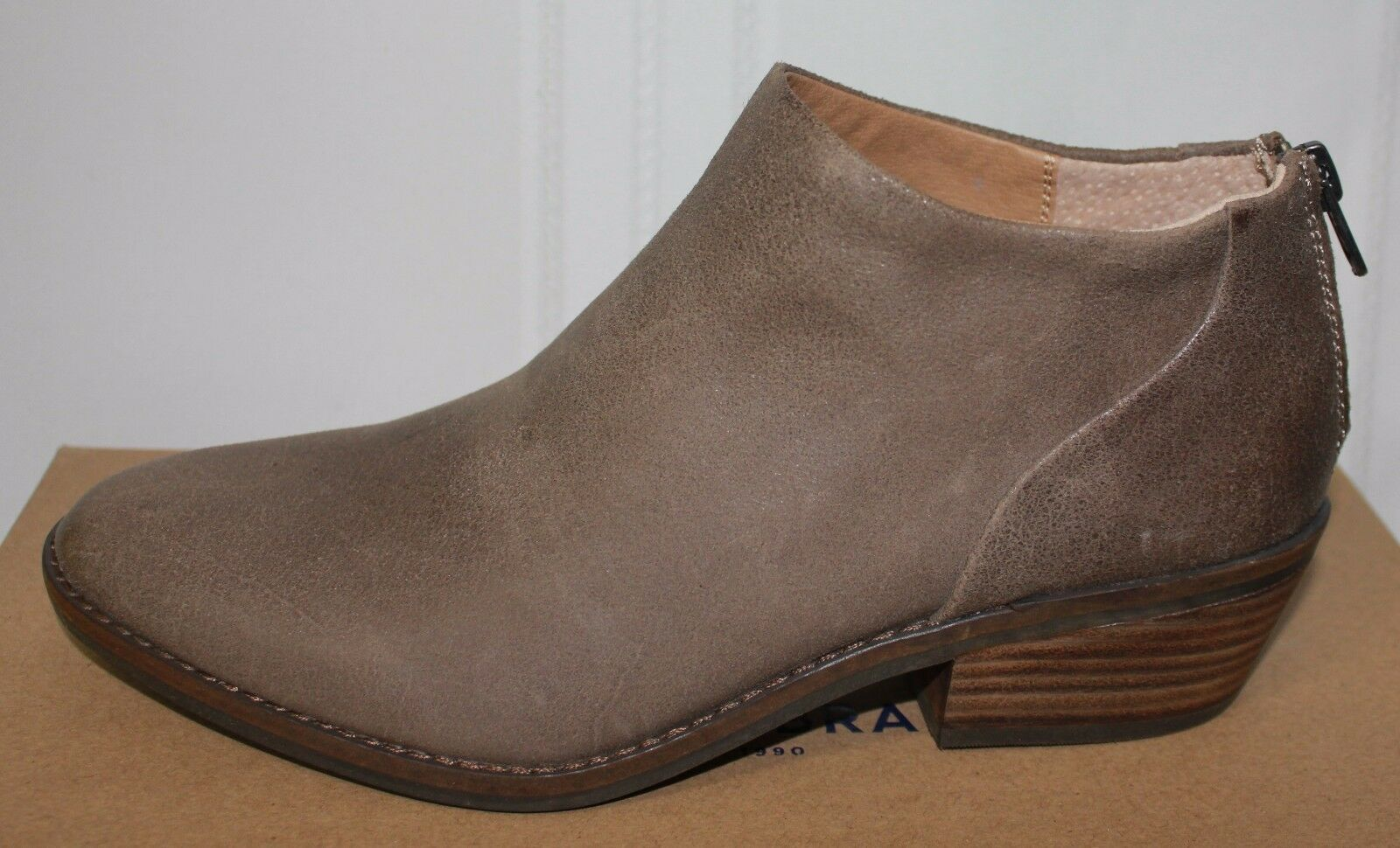 Lucky Brand Fai booties Brindle With antik grease Leder New With Brindle Box 9e80c8