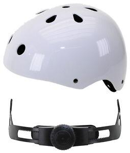 Ventura Freestyle Bmx Casque skatehelm skaterhelm blanc taille L 58-61cm NEUF 731283  </span>