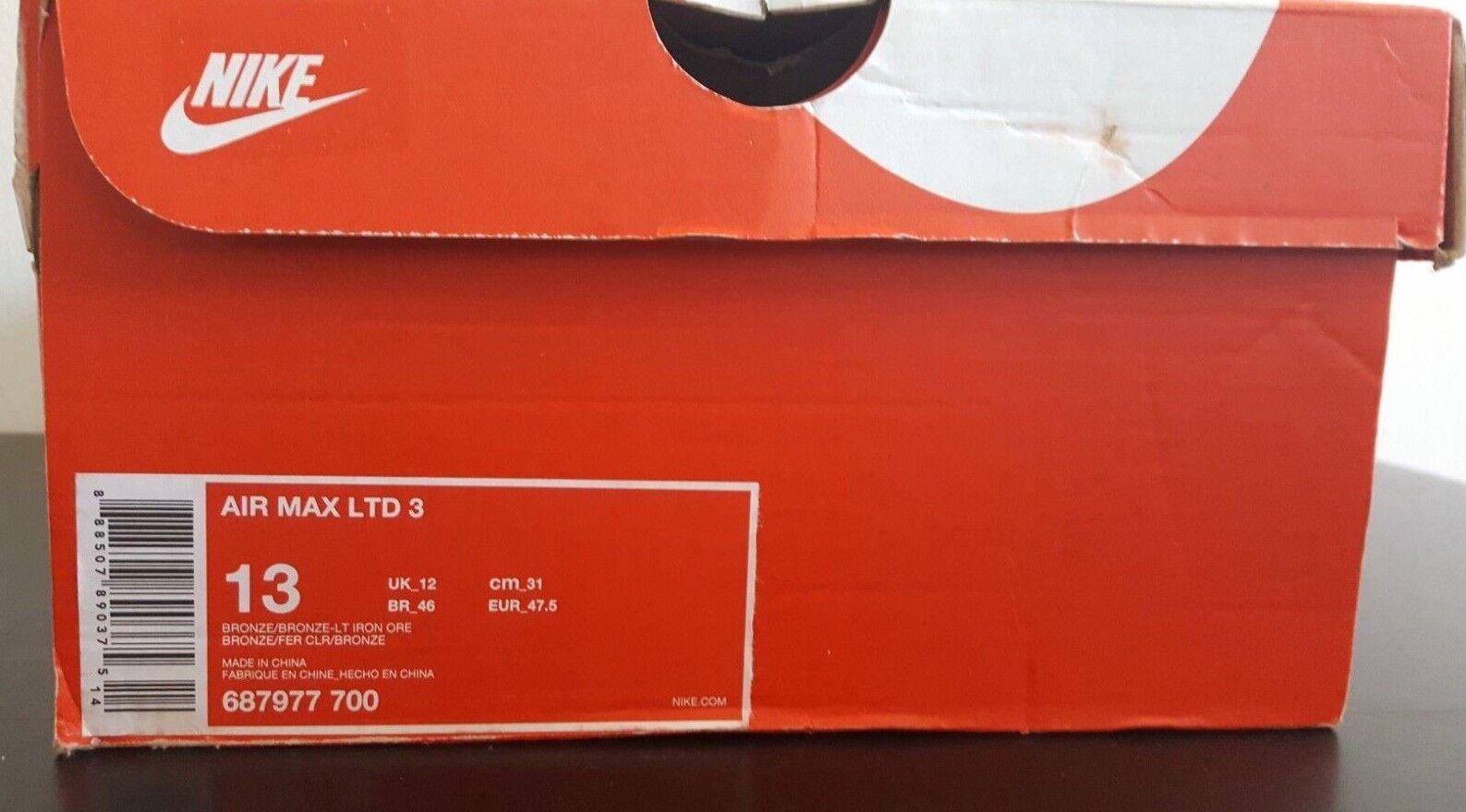Nike air max. 3 bronze / bronze - licht  eisenerz 687977-700  licht laufschuhe 179d9e