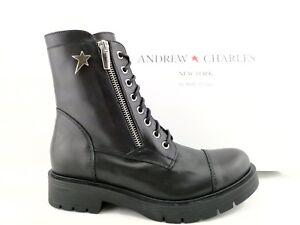 Stivaletti Nero Anfibi Pelle ac2 I18 37 Andrew Retail Donna Charles Italy €364 x1ISq8
