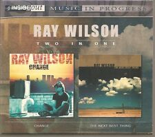 """RAY WILSON Two In One """"Changes & The Next Best Thing"""" 2CD Slipcase Box"""