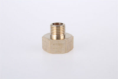 uxcell G1//2 Female Thread 10mm Dia Barbed End Brass Hose Barb Fittings Jointers 2pcs