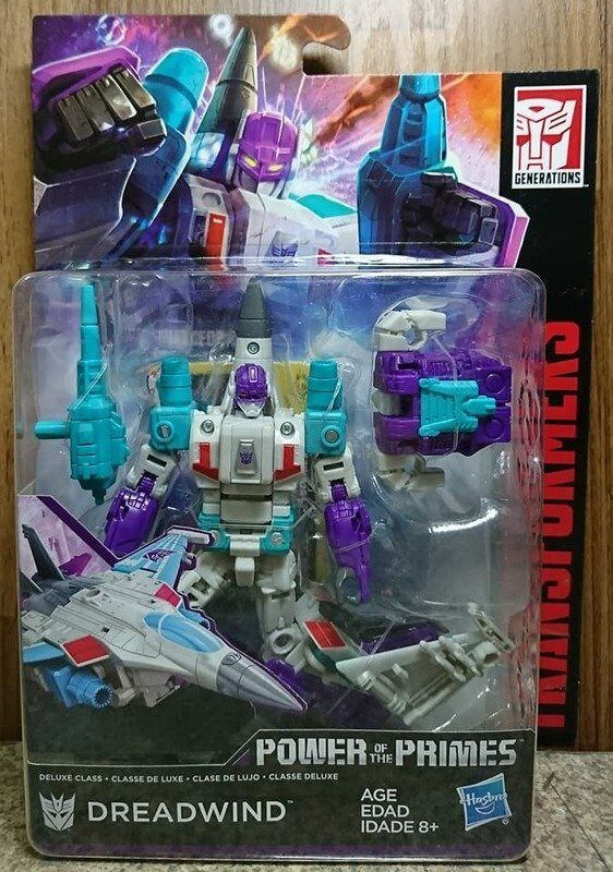 Hasbro Transformers POTP Power of the Primes Deluxe Class Dreadwind ActionFigure