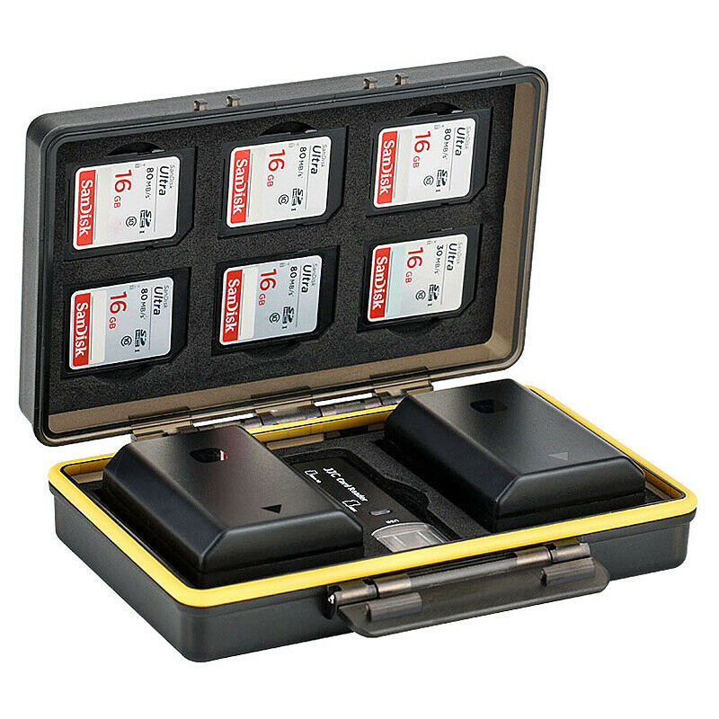 Battery Memory Card Protection Case for Canon for Sony for Nikon Fuji..