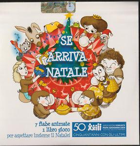 DVD-Musicale-Se-Arriva-Natale-7-Fiabe-animate-Filastrocche-Bambini-LIBRO