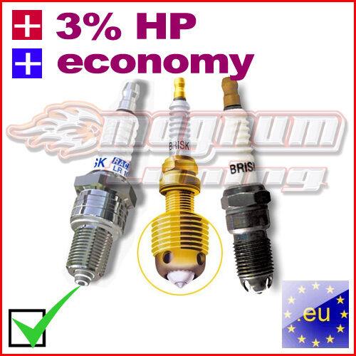 3/% HP PERFORMANCE SPARK PLUG Honda Absolute Revo CV ANF125 i Innova 5/% FUEL