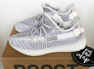 7c9e36c09f114 Adidas Yeezy Boost 350 V2 Static Non Reflective UK 3 4 5 6 7 8 9 10 ...