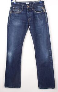 Replay Hommes Billstrong Jeans Jambe Droite Taille W32 L36 BCZ225